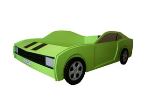 The Bluewell Beast us muscle car bed for children